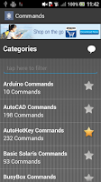 Screenshot of Commands Library Pro
