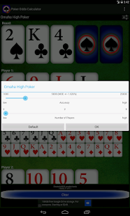 Poker Odds Calculator- screenshot thumbnail