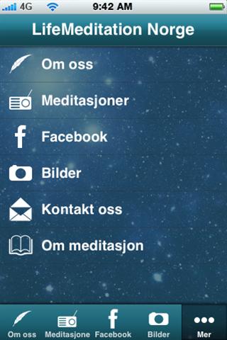 Life Meditations Norge