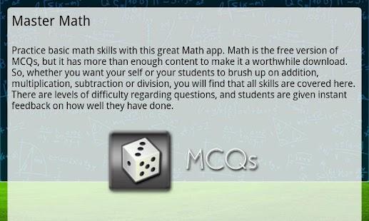 maths mcqs Tutorials for question #00012228 categorized under mathematics and general mathematics.
