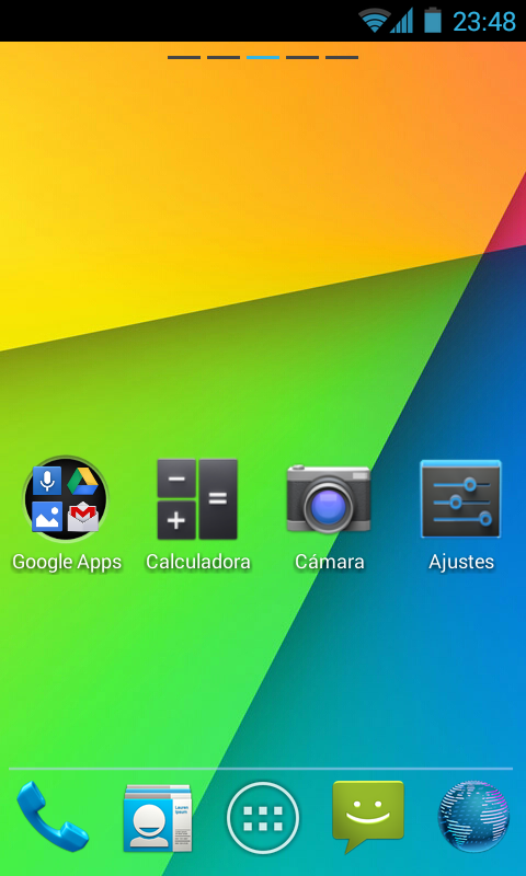 Jelly Bean Go Launcher Theme - screenshot
