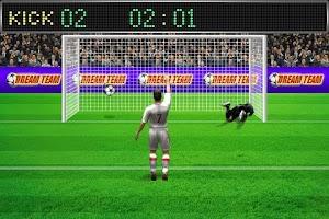 Screenshot of Football Penalty