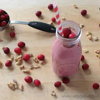 Cranberry Smoothie.