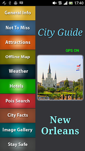 New Orleans Offline Guide