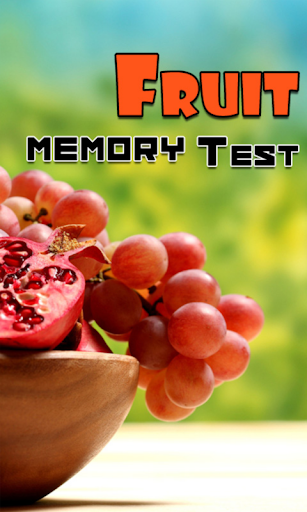 Fruit Memory Test