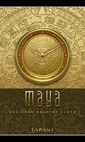 Screenshot of Maya Designer Clock Widget