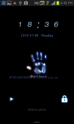 hand go locker theme