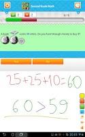 Screenshot of Second Grade Math