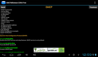 Screenshot of CMD Reference CCNA Free