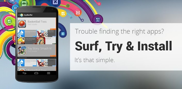 AppSurfer Find & Try top apps