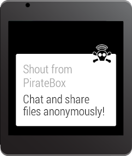 PirateBox- screenshot thumbnail