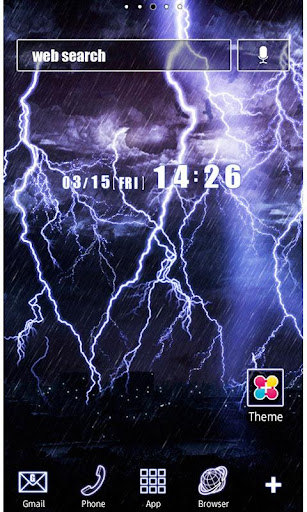 Cool Wallpaper Thunderstorm 1.2 Windows u7528 1