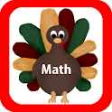Thanksgiving Math Flashcards
