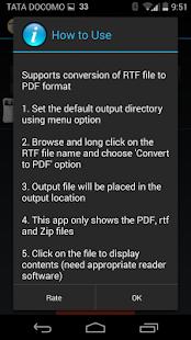 玩免費商業APP|下載RTF to PDF Converter app不用錢|硬是要APP