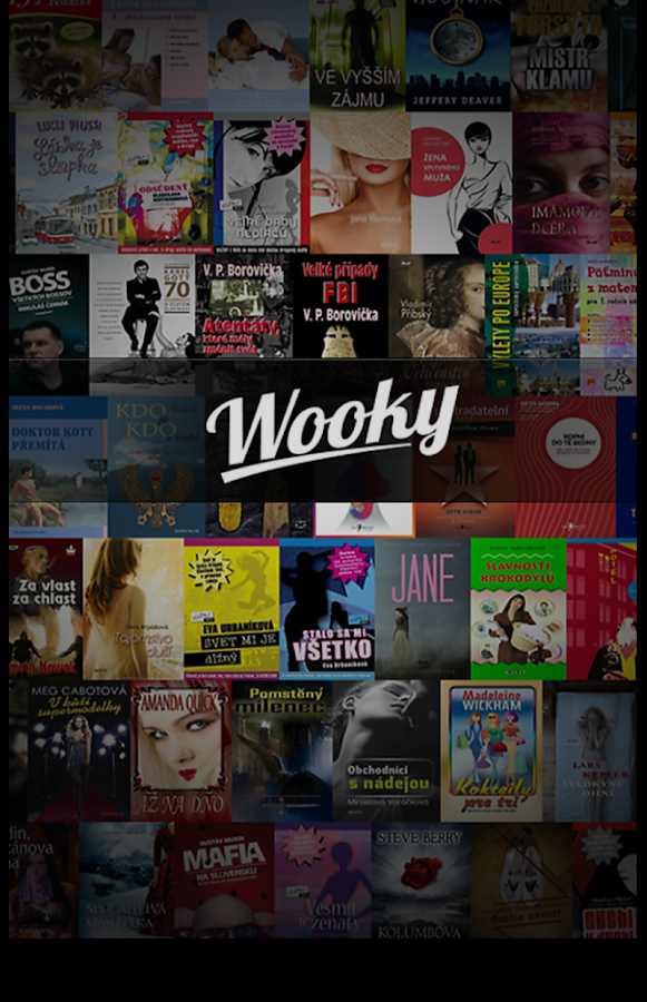 Wooky - ebook reader- screenshot