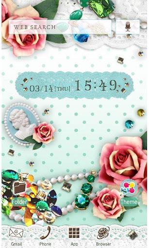 JEWELS & ROSES Wallpaper Theme 1.6 Windows u7528 1