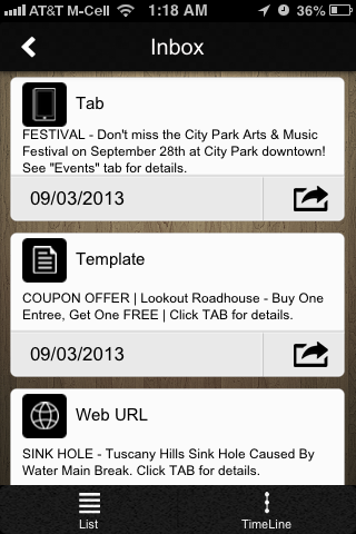 CityByApp® Lake Elsinore!- screenshot