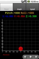 Screenshot of Accelerometer