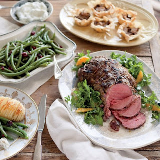 Mustard-Roasted Beef Tenderloin