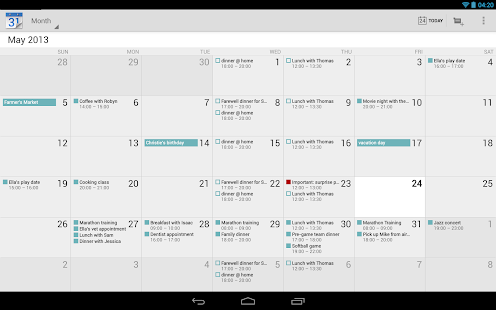 Google Agenda - screenshot thumbnail
