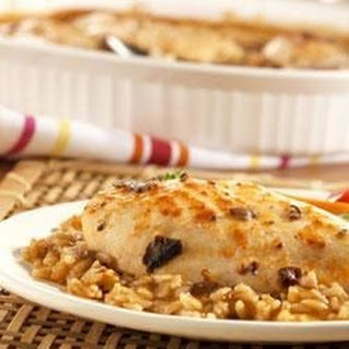Asian Chicken and Rice Bake.