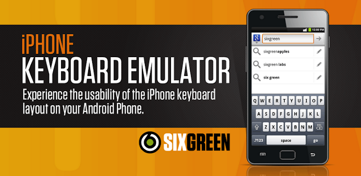 iPhone Keyboard Emulator apk