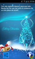Screenshot of Dedicatorias de Navidad