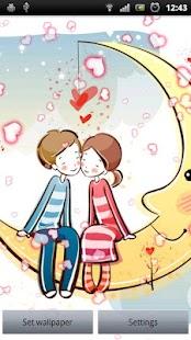 Valentine Live Wallpaper Screenshot 1