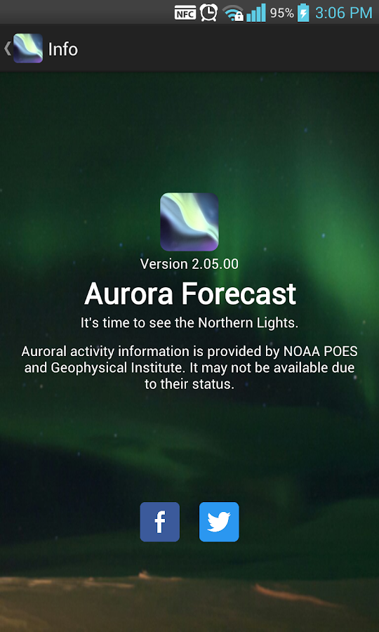 Aurora Forecast - screenshot