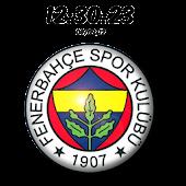 Digital Clock Fenerbahçe