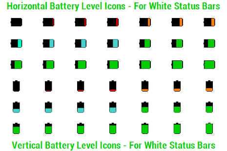 BN Pro Battery Level Icons - screenshot thumbnail