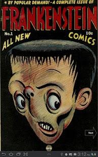 Frankenstein Comic Book 1