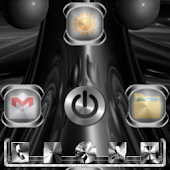 3D METAL Go Launcher Ex Theme