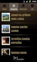 Screenshot of Točke užitka