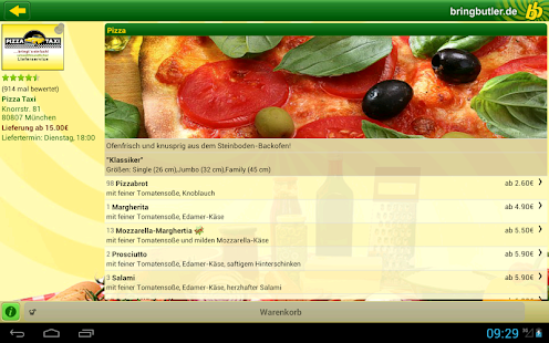 Bringbutler - Pizza, Pasta, .. - screenshot thumbnail