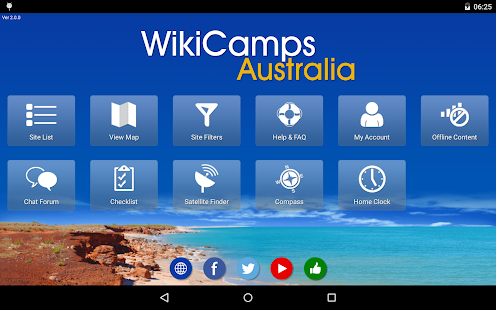 WikiCamps Australia - screenshot thumbnail