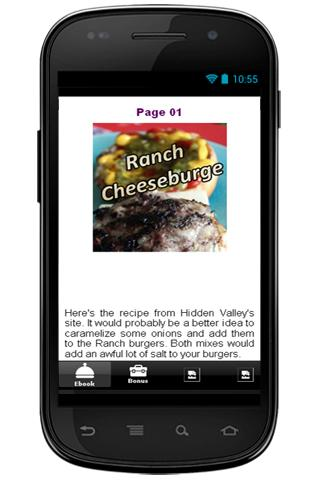 玩生活App|Ranch Cheeseburge Recipe免費|APP試玩