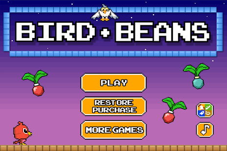 Bird vs Beans - Hungry Pixels - náhled