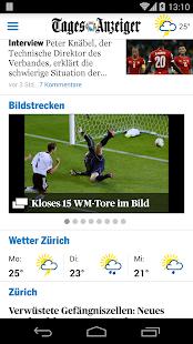 Tages-Anzeiger Screenshot 3