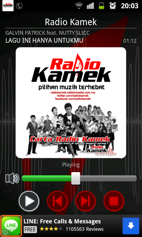 Radio Kamek- screenshot