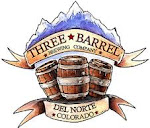 Logo for Three Barrel Brewing Company