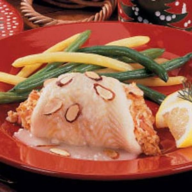 Crab-Stuffed Sole Recipe