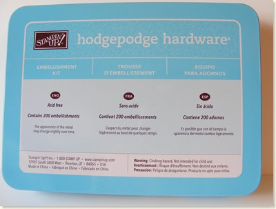 Hodgepodge Hardware Blog Candy