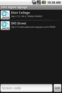 JADS Screen Reader - screenshot thumbnail