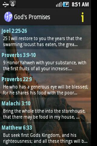 God's Promises in the Bible 1.04 screenshots 3