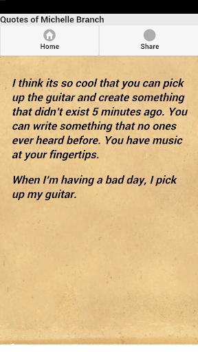 【免費娛樂App】Quotes of Michelle Branch-APP點子