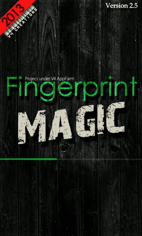Fingerprint Magic - screenshot