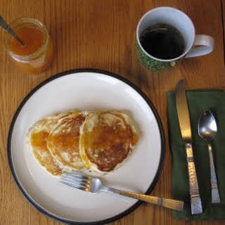 Beautiful Buttermilk Pancakes.
