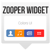 Colors UI - Zooper Widget Skin
