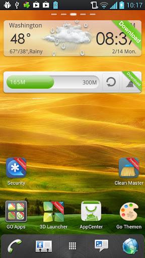 HTC Sense 4.1 GoLauncher Theme